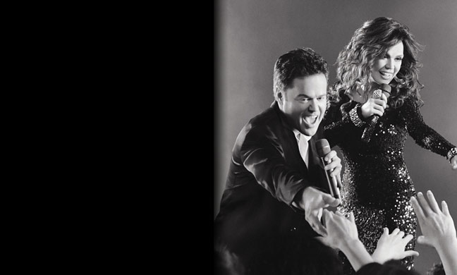 Donny and Marie Osmond Las Vegas