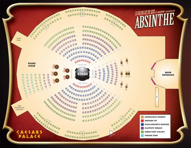 Absinthe Seating Chart