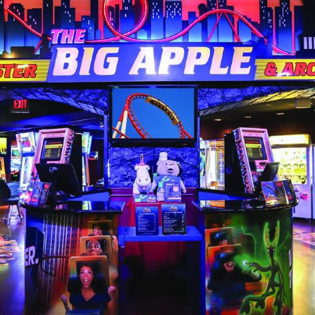 Big Apple Rollercoaster and Arcade at New York-New York Hotel