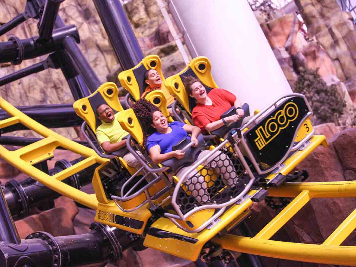 Adventuredome: America's largest indoor theme park