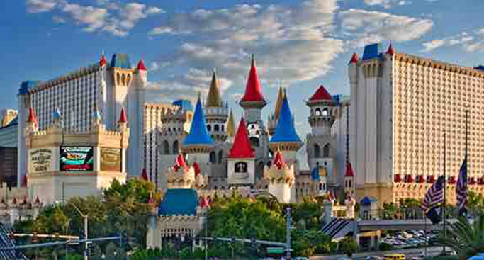 Image result for excalibur hotel
