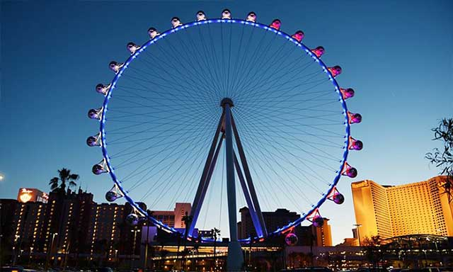 High Roller Observation Wheel at LINQ