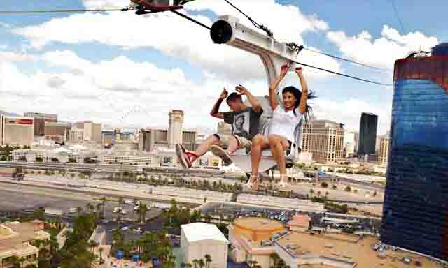 VooDoo Zipline at The Rio