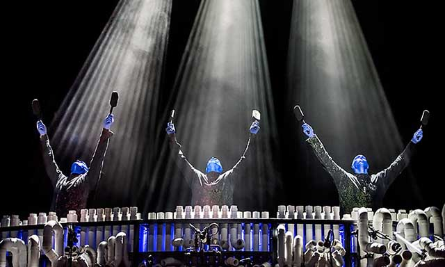 Blue Man Group at the Luxor