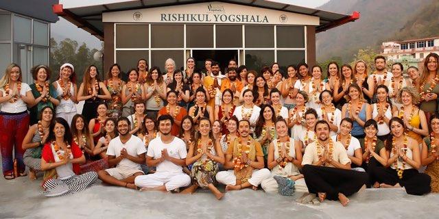 Rishikul Yogshala in Rishikesh, India