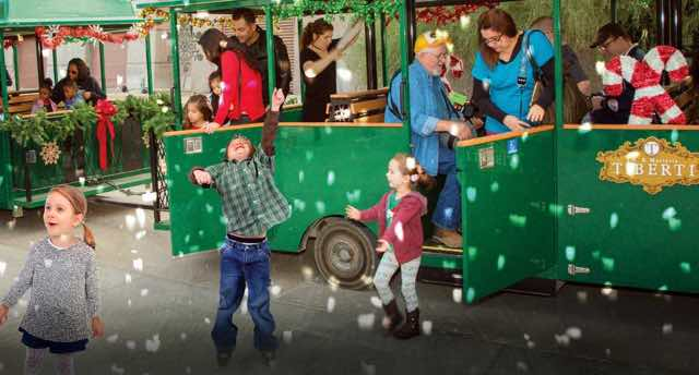 Springs Preserve Holiday Express